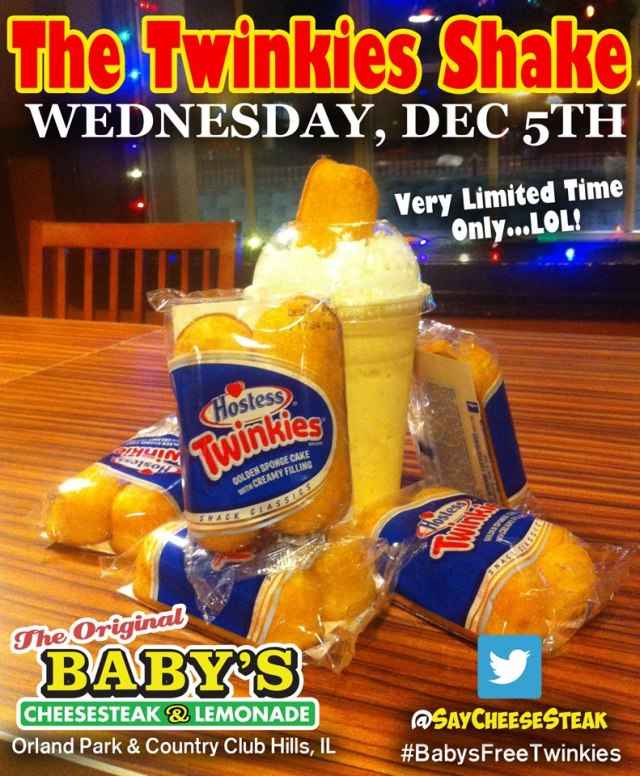 Twinkie Shake